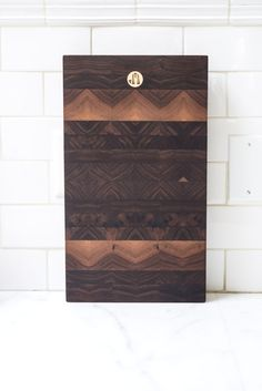 As beautiful as they are functional, these Jacob May Heirloom Cutting Boards are great for prep and serving (and, with this quality, they're sure to last a lifetime)