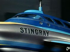 The famous submarine itself, screen shot from the kids TV puppet show Stingray