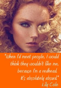 Lily Cole Famous Redhead