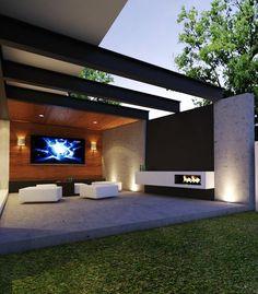 Casa Campo Lago por Creato Arquitectos #terrazas #arquitectura: