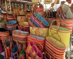 French market baskets.  <3