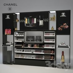 Chanel Cosmetics Display                                                                                                                                                                                 More