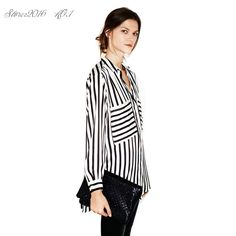 新しい夏正式なブラウスロングスリーブボタンダウン女性のシャツ縦キャリアダウンロングスリーブボタントップス