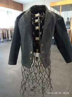 Black upcycled denim kids blazer Denim Blazer, Upcycle, Sequin Skirt, Sequins, Skirts, Black, Fashion, Moda, Upcycling