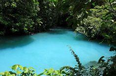 rio celeste lagoon   - Costa Rica