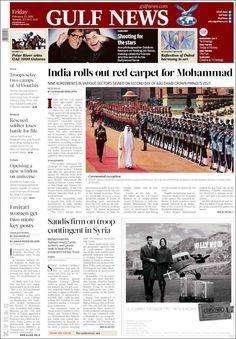 #20160212 #UAE #EMIRATES #GulfNews #DUBAI #AbuDhabi Friday FEB 12 2016 http://en.kiosko.net/asi/2016-02-12/np/gulf_news.html