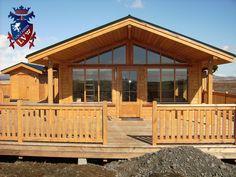 If you are thinking of purchasing a log cabin to live in, purchase it from the guys that live in the woods, not from the city!