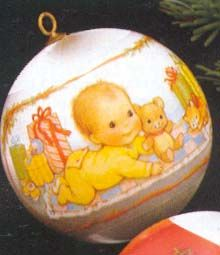 1978 Baby's First Christmas Ball Ornament