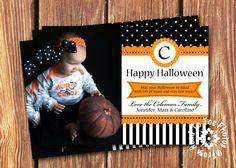 Halloween Photo Cards. $12.00, via Etsy.