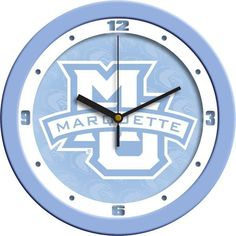 New - Marquette Golden Eagles-Baby Blue Wall Clock
