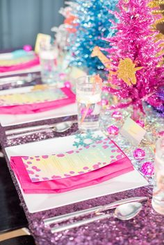 This Lisa Frank-Inspired Holiday Party Is Every 80s and 90s Kids Dream Come True via Brit + Co