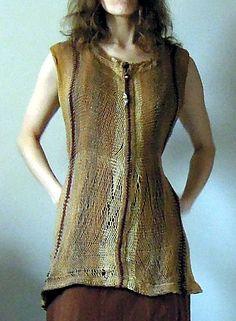 Ravelry: Sylva-Les' sprang prehistory clothes (Sylva Antony Čekalová)