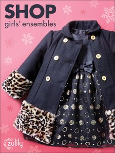 Sign up to see zulily's daily selection of unique girls apparel, discounted up to 70% off! New styles added every day!