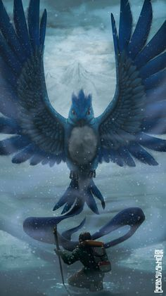 """Articuno entry in Pokémon Y pokedex: """"A legendary bird Pokémon that is said to appear to doomed people who are lost in icy mountains."""" A hicker lost in the mountains encounters their&nbsp. Pichu Pokemon, Pikachu, Pokemon Fan Art, Cute Pokemon, Pokemon Go, Pokemon Na Vida Real, Pokemon In Real Life, Madara Susanoo, Fanart"""