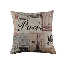 #topbrand Specifications: Material:Linen Cotton 100% brand new and #high quality Shape:Square Size: 45cm*45cm Type:Pillow case Please allow slight deviation for ...
