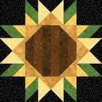 sunflower quilt block patterns - Bing Images