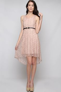 Rose Lace Jackie Dress