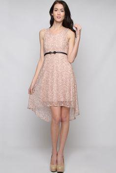 Rose Lace Jackie Dress