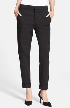 Vince Boyfriend Trousers available at #Nordstrom