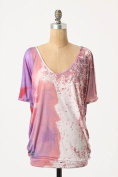 Painted V-Neck from Anthropologie - $58.00