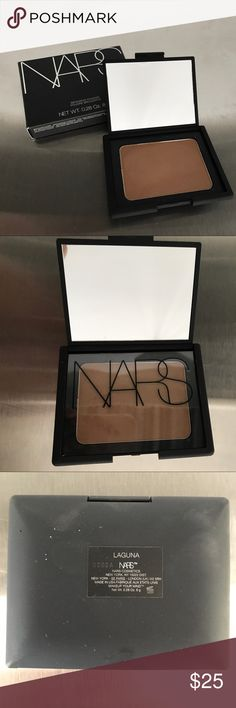 NARS Bronzing Powder in Lauguna Used once - barely swiped! Unfortunately, this amazing bronzing powder doesn't work for me! Currently selling at NARS, Nordstrom and Neiman Marcus for $40. NARS Makeup Bronzer