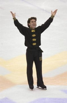 Elvis Stojko - Canadian, World Figure Skating Champion, and Olympic Medalist ...  Canadian ice skating legend, Elvis Stojko, won the Canadian figure skating title seven times. He also is a three-time world figure skating champion and a two-time Olympic figure skating silver medalist.