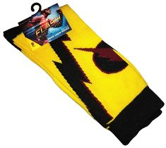 DC Comics The Flash (Reverse Flash) Mens Crew Socks - Loot Crate Exclusive - New.  https://www.ebay.com.au/itm/232686516013  OR https://www.supportivepc.com  #DcComics #TheFlash #LootCrate #Collectibles