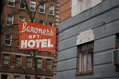 Baroness Apartment Hotel by JoeInSouthernCA, via Flickr  First Hill, Seattle
