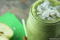 Apple Cinnamon Coconut Smoothie #weightlossrecipes