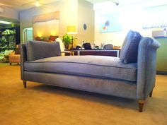 Custom made bench and upholstered with velvet fabric Custom Made, Bench, Lounge, Velvet, Fabric, Furniture, Home Decor, Chairs, Airport Lounge