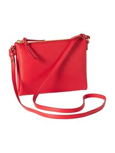 Faux-Leather Crossbody Bag Product Image