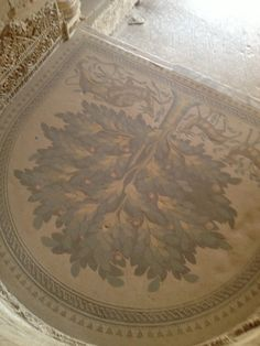 فن عمره ١٤٠٠ سنه ، اريحا ، قصر هشام