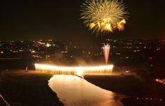 Atsugi Ayumatsuri big fireworks festival, Kanagawa