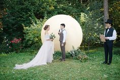 whimsical wedding ceremony - photo by Aleksandra Sashina http://ruffledblog.com/whimsical-fairy-tale-wedding-in-russia