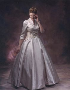 Darius Cordell | 3/4 Sleeve Formal Ball Gown for Mother of the Bride