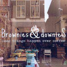 Brownies & DownieS Arnhem: Good things happen over coffee