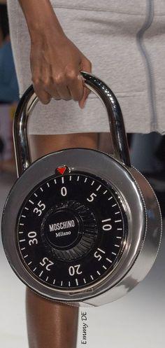 Moschino Under Lock Bag