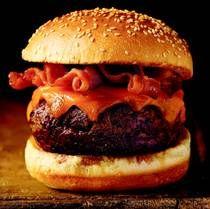 Morton's Two-Fisted Bacon Cheeseburger Recipe