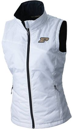 ae3fd215013 Columbia Women s Purdue Boilermakers College Powder Puff Vest - ShopStyle