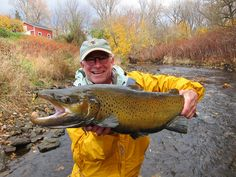 Go Big and Small in Fall for Brown Trout