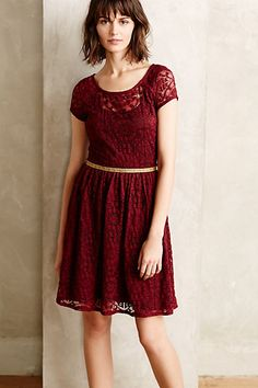 Snowlace Dress #anthropologie #anthrofave