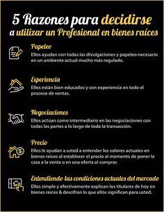5 Razones para decidirse a contratar un profesional en bienes raíces [INFOGRAFíA] | Latina on Real Estate
