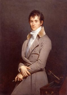 Robert Lefèvre, Bayeux,  Portrait du peintre Pierre-Narcisse Guérin ), Salon de 1801. Huile sur toile.