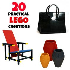 20 Totally Amazing AND Useful Things Made of Legos   Babble