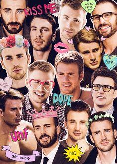 Chris Evans | Collage