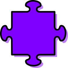 Purple Puzzle Piece