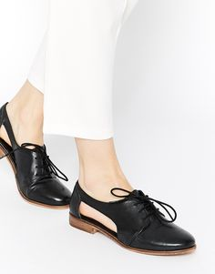 ASOS | ASOS - MIGHT YOU - Scarpe stile jazz in pelle con cut-out su ASOS