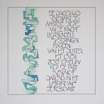 Kalligrafie: Vrij werk - Letterkunst Letterkunst