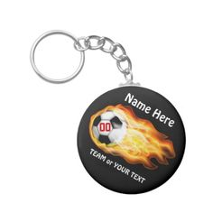COOL CHEAP Personalized Soccer Team Gifts Under $5.00.  Type in Soccer Players NAME, TEAM NAME and Jersey NUMBER into the 3 Text Box Templates to the right of each of the Personalized Soccer Keychains.  CLICK HERE to see ALL Custom Soccer Gift Ideas: http://giftsforcreativepeople.com/SOCCERGiftsCLICKHERE  ALL of Little Linda Pinda Designs CLICK HERE: http://www.Zazzle.com/LittleLindaPinda*/  Really neat Soccer Team Gifts for Kids and Teenagers for Backpacks or Keys.