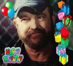 Today is Jim Beavers ( Bobby)birthday! Jim Beaver, Beavers, Bobby, Supernatural, My Life, Blood, Singer, Baseball Cards, Birthday
